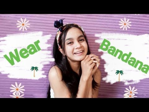 HOW TO WEAR BANDANA IN DIFFERENT STYLES|1 Minute Bandana Hairstyles|Cute Woman Ha…