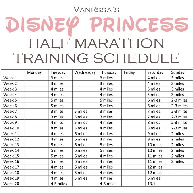 Best  Half Marathon Training Schedule Ideas Only On