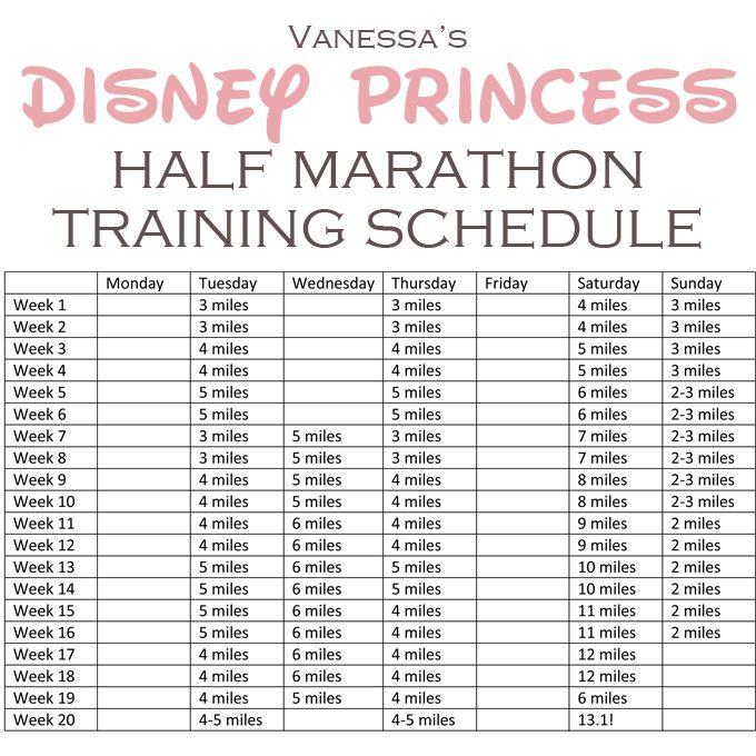 It's on my bucketlist-run a half marathon, maybe by pinning this I'll be motivated? Half Marathon Training Schedule