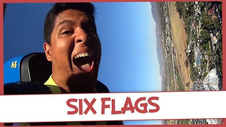 SIX FLAGS: AS MONTANHAS-RUSSAS MAIS RADICAIS DOS ESTADOS UNIDOS