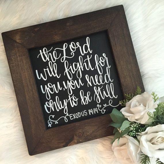 everlastingjesus: Exodus 14:14 by FullofJoyHandmade on Etsy jesusnerdyall.tumblr.com http://twitter.com/JesusSetMeFree_