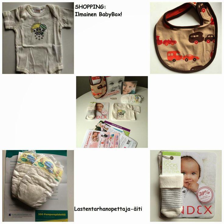ostokset, babybox, lastentarvikkeet, lastenvaatteet