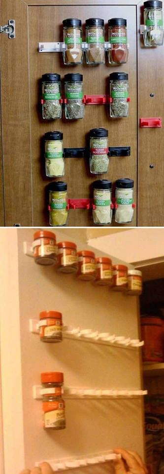 Best 25 small apartment kitchen ideas on pinterest for Kitchen organization hacks