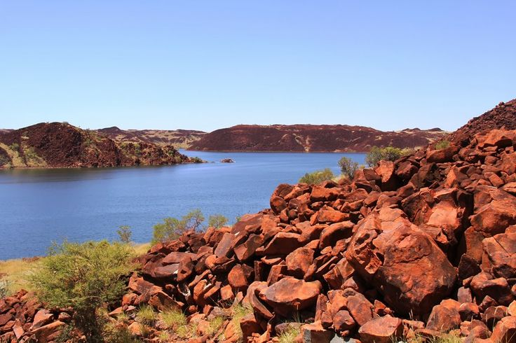 Travels With Charlee: Harding Dam, Karratha, Western Australia