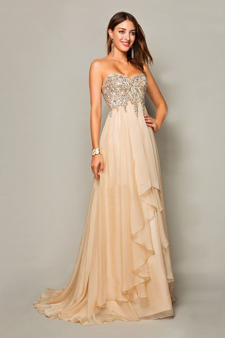 29 best kleider images on Pinterest | Cute dresses, Evening gowns ...