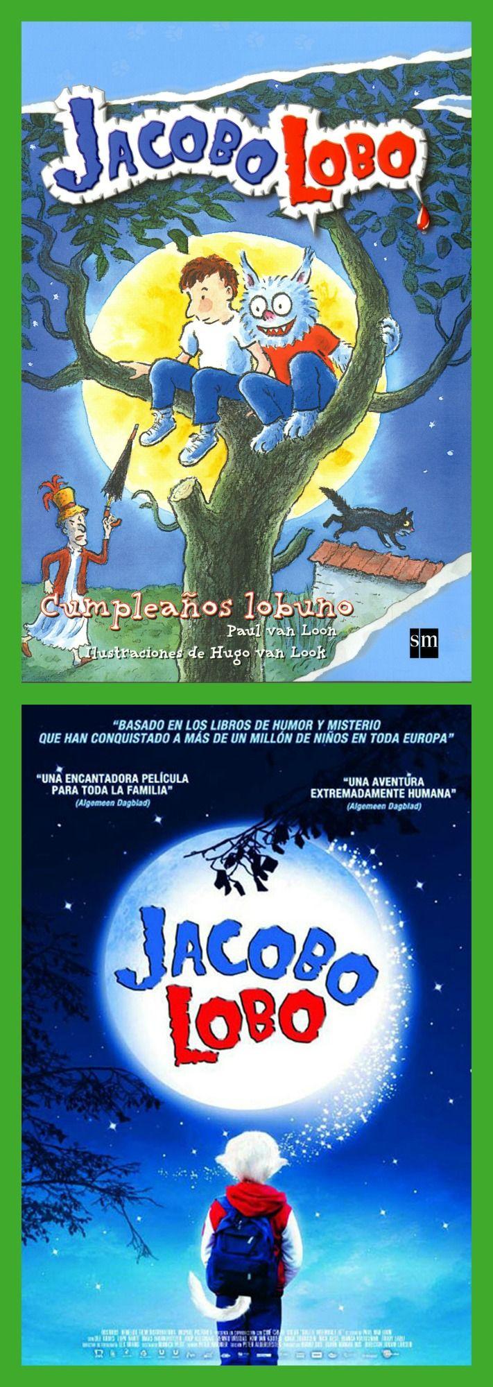 JACOBO LOBO: Jacobo es un niño aparentemente normal... hasta que cumple siete años y descubre algo que cambiará su vida para siempre.              De día sigue siendo un niño, pero en las noches de luna llena Jacobo se transforma en...¡un lobo!  Paul van Loon, el autor de Jacobo Lobo, escribió la primera novela de la serie en 1996. Desde entonces no ha sido capaz de abandonar a Jacobo y sus amigos.