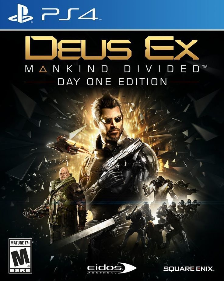 Deus Ex: Mankind Divided PS4 $44.95 NEW FREE SHIPPING
