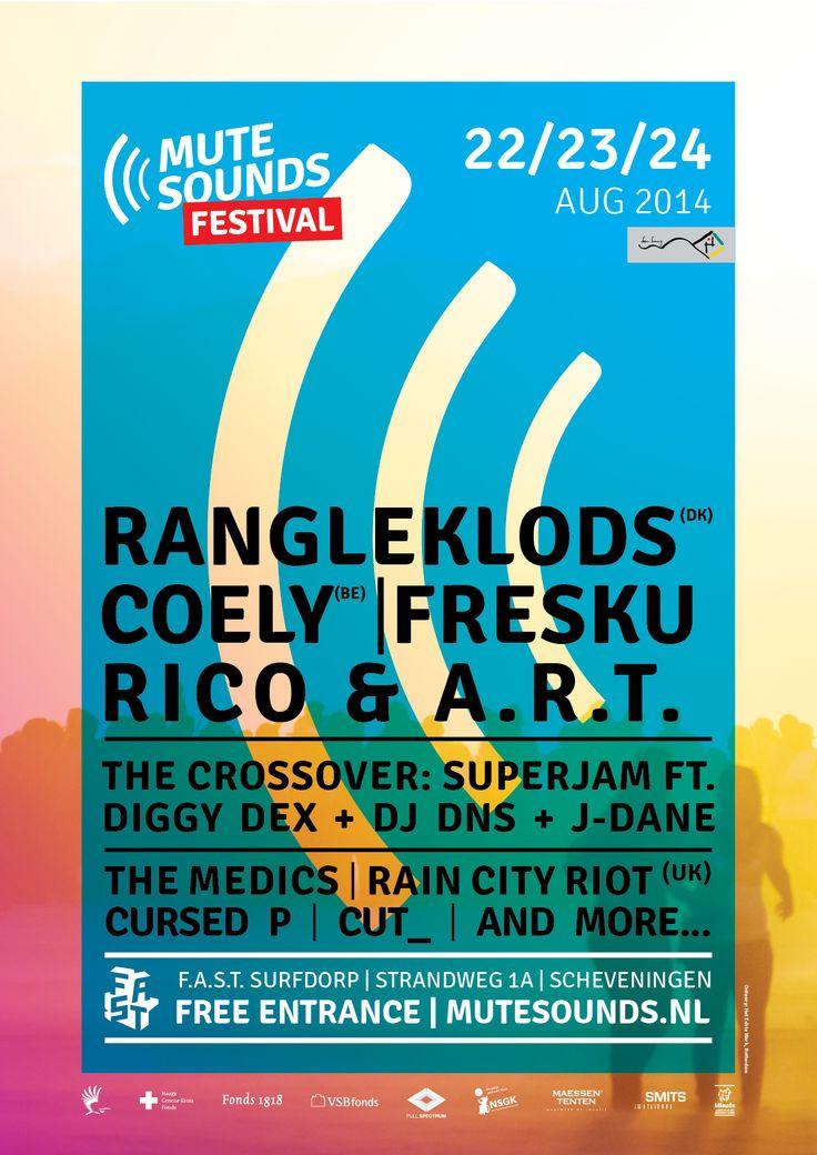 MuteSounds Festival - 22, 23, 24 augustus 2014