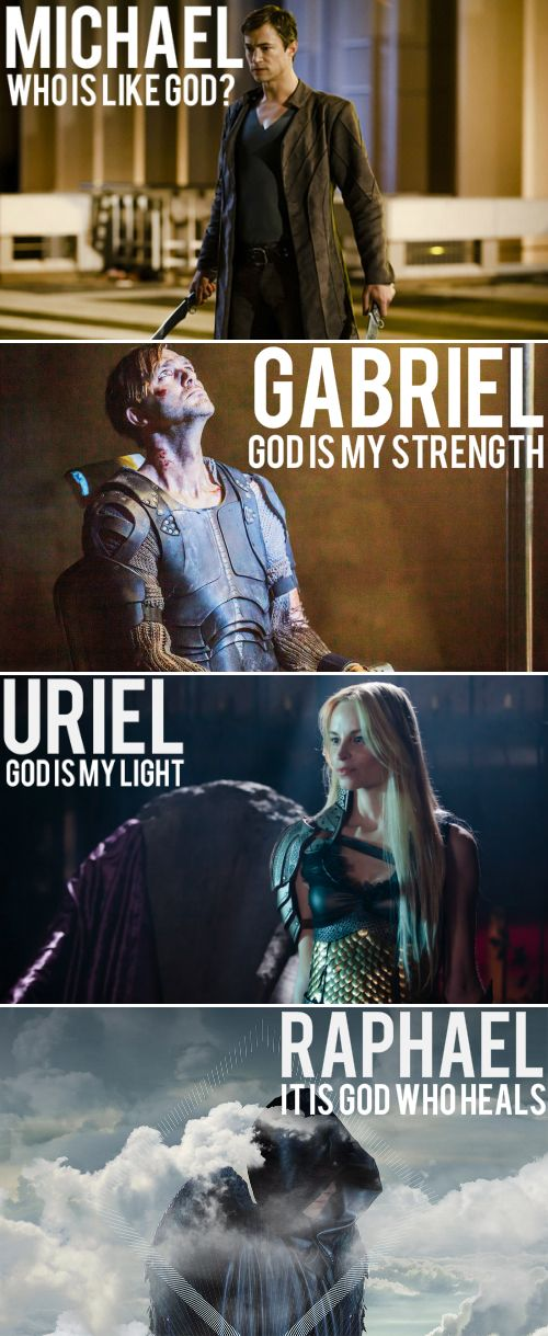 The Archangels of #Dominion. A shame we never met Raphael