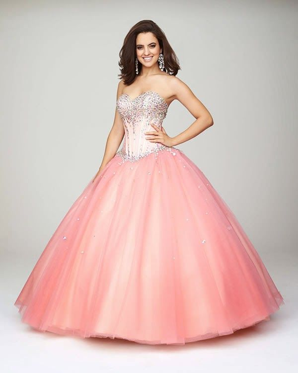 18 best vestidos 15 años boo images on Pinterest | Prom dresses ...