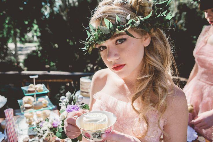 vintage bridesmaid dresses styled bridal tea party editorial photoshoot