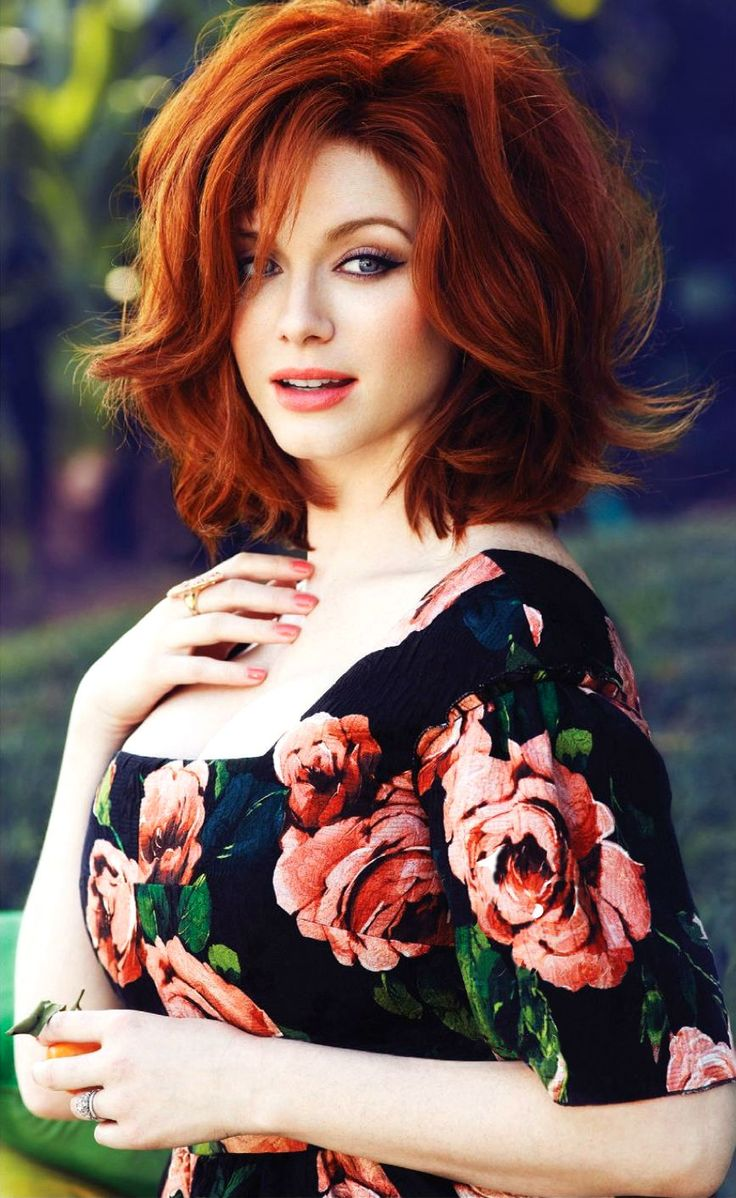 Christina Hendricks by Max Abadian for Flare May 2013