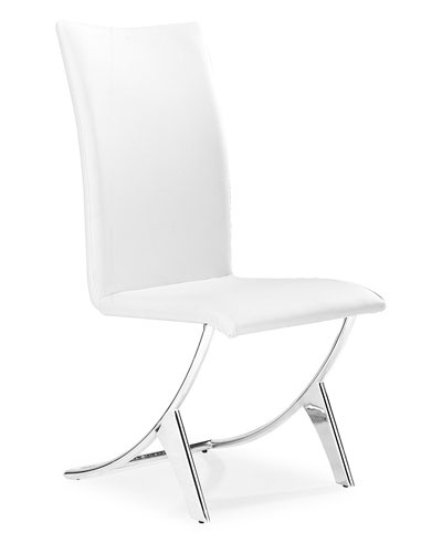Wow! Zuo Modern Set of 2 Delfin Dining Chairs