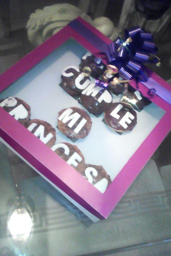 Caja para ponquesitos - muffins / magdalenas-