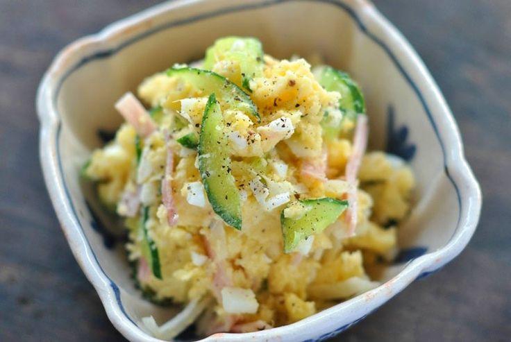 美味しいポテトサラダのコツとレシピ/作り方:白ごはん.com