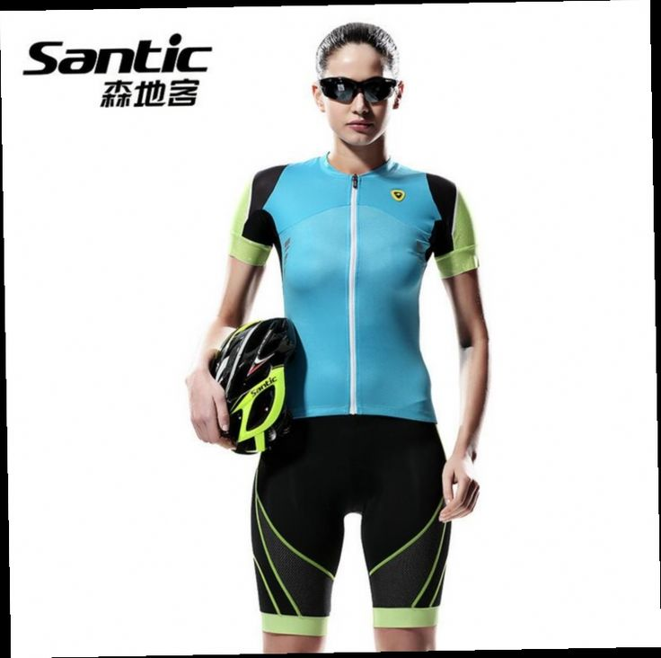 53.27$  Watch here - http://alio1l.worldwells.pw/go.php?t=32642469929 - Santic Women Cycling Jersey Summer Anti-sweat Breathable Reflective Short Sleeve Bike Bicycle Jersey Clothes Conjunto Ciclismo 53.27$
