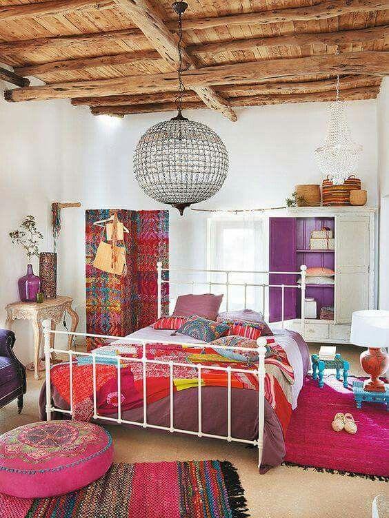 Dormitorio boho dormitorios bedrooms pinterest for Dormitorio boho