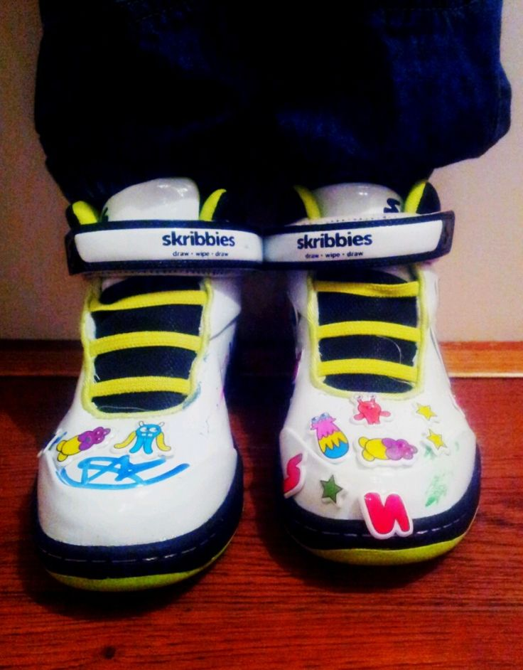 kid GL loves? A Review of Skribbies Trainers. - kidGLloves