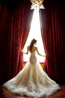 Kenneth Pool wedding gown real bride, photo by Annette Biggers