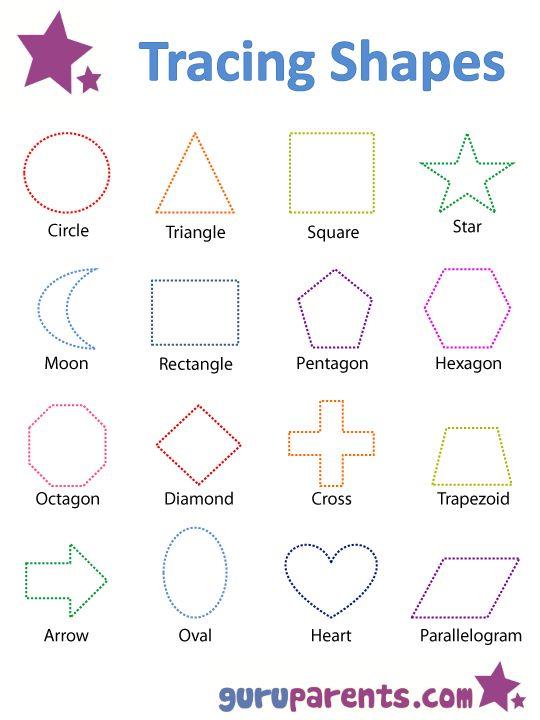 25 best ideas about shapes worksheets on pinterest kindergarten shapes learning shapes and. Black Bedroom Furniture Sets. Home Design Ideas