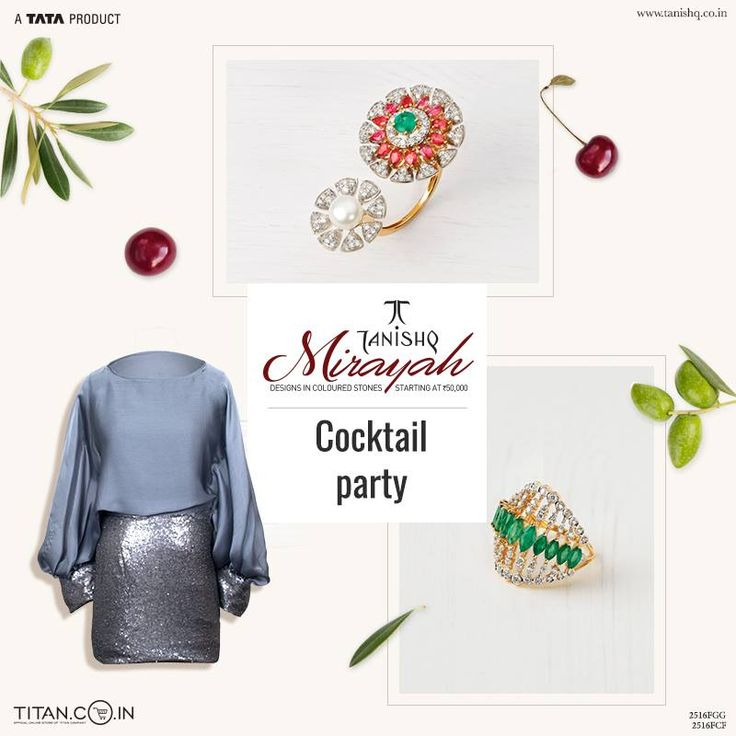 Rings that add the right amount of opulence to your ensemble, making those cocktail parties truly unforgettable.