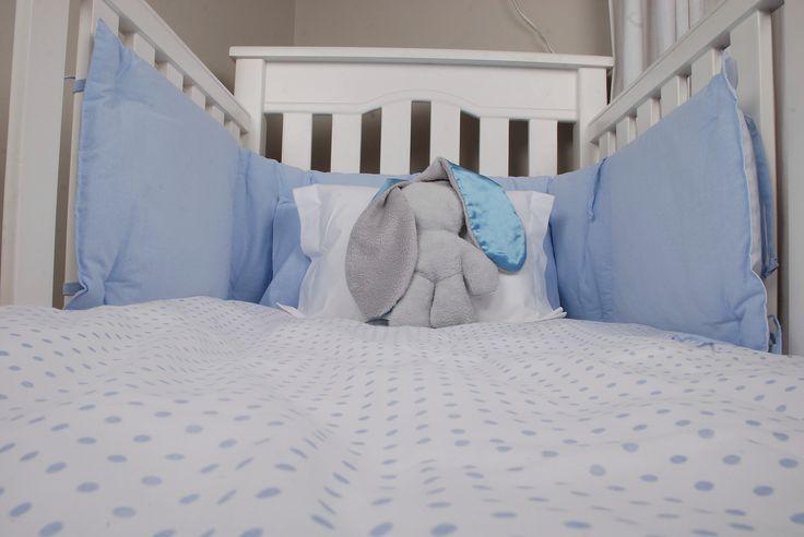 Blue & White Baby Spots from www.tomandbella.co.za