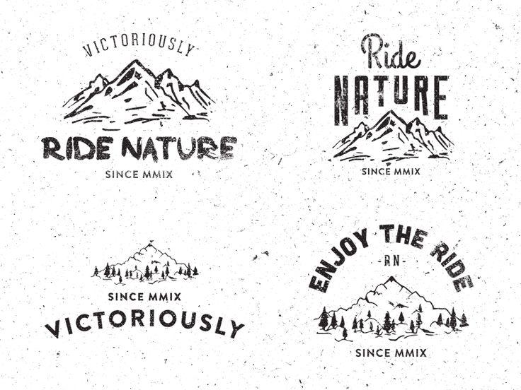 Best 25+ Hipster logo ideas on Pinterest | Vintage logo ...