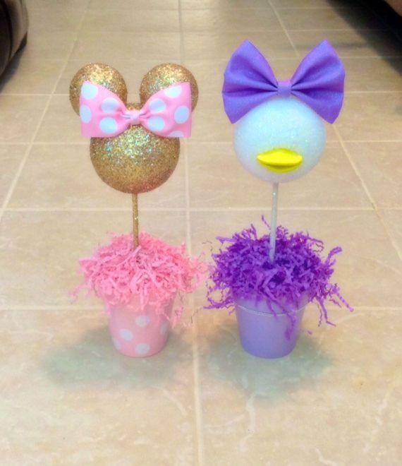 Daisy Duck inspired Centerpiece Daisy Duck Birthday by AmyJays