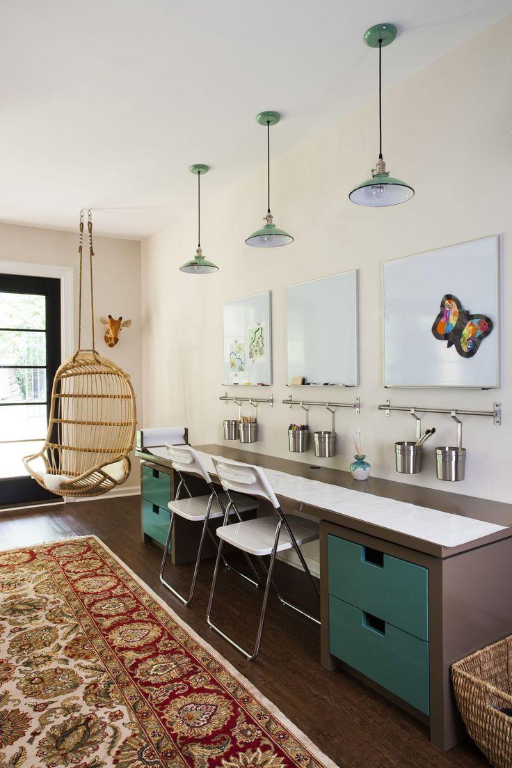 Basement Study Room: Study Room Design, Room Design, Home Renovation