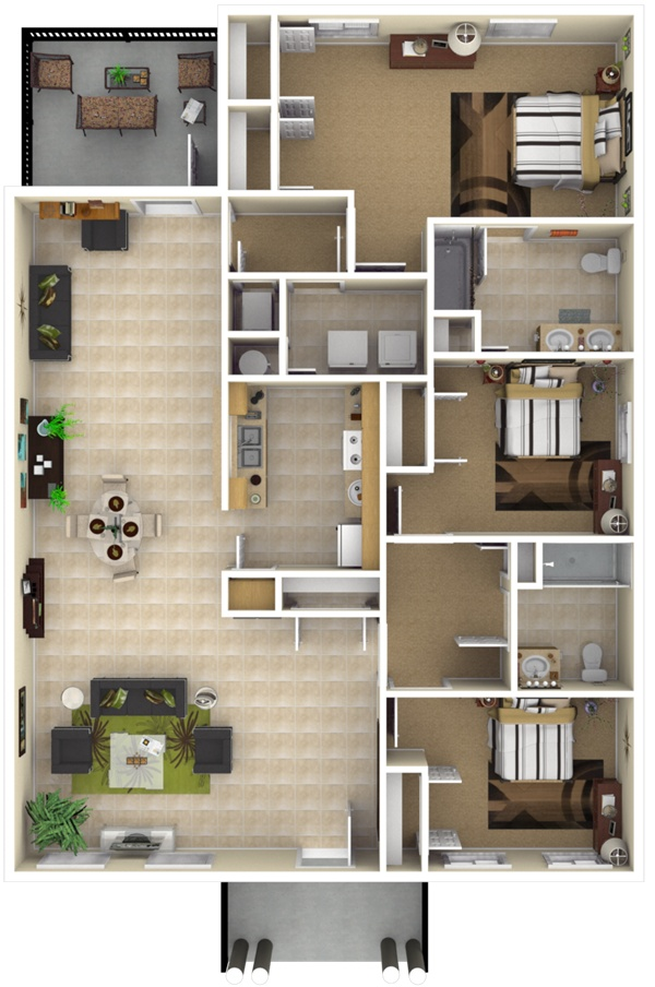 17 best images about nsa jrb new orleans la on pinterest for Ada apartment floor plans