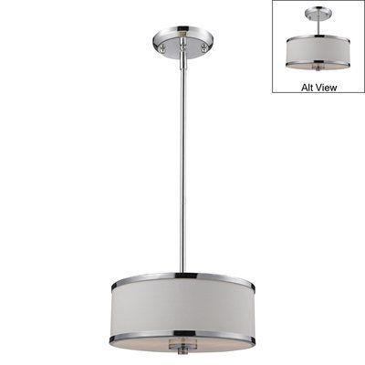 Z-Lite 16-12 Cameo 2 Light Convertible Ceiling Fixture