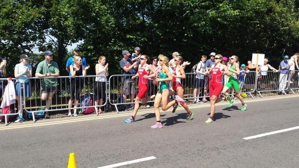Aileen Reid 6th at Commonwealth Games triathlon - Glasgow 2014