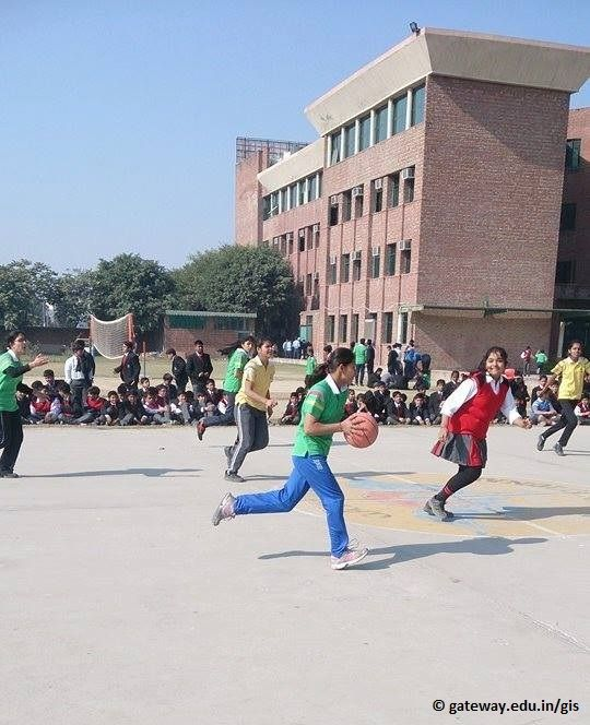 Basketball Interhouse Competiotion Gateway International School,Sonipat