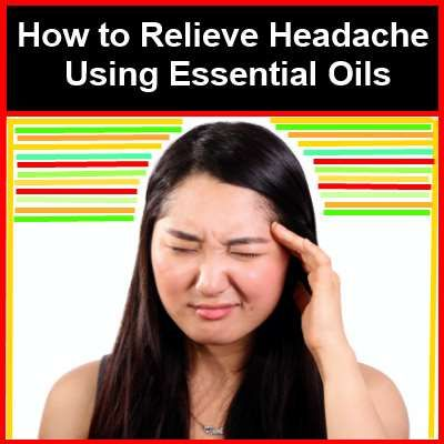 ***** How to Relieve Headache (and sinus congestion headaches) Using Essential Oils *****