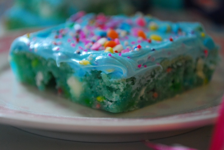 Cotton Candy Bars Recipe ~ oh my, they're wonderful... Incredibly sweet, but really good and easy to !