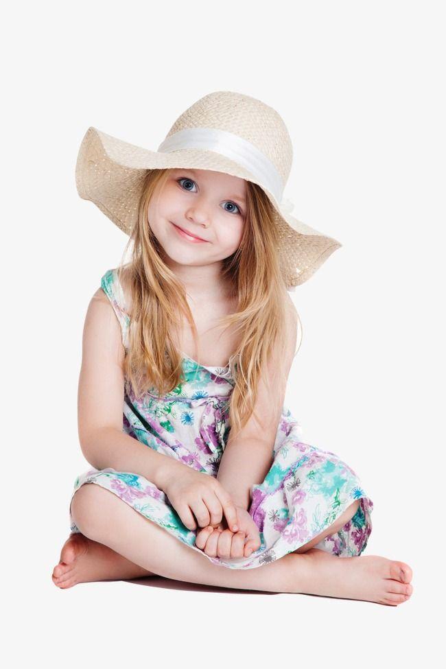 الفتاة الأجنبية مع قبعة فتاة صغيرة ترتدي قبعة طفل لطيف الاطفال Png وملف Psd للتحميل مجانا Designer Kids Clothes Baby Outfits Newborn Kids Outfits
