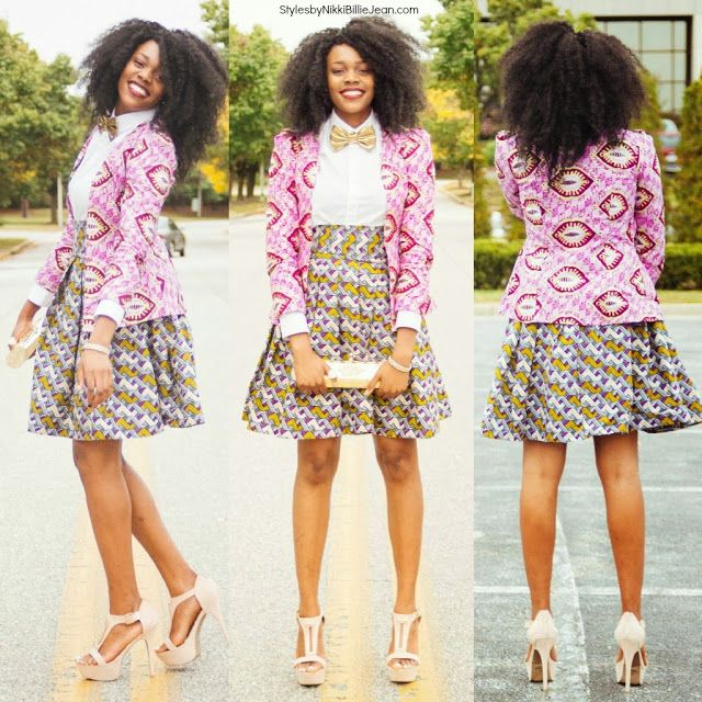 African Prints in Fashion: It is Share Your Style Friday (SYSF)!