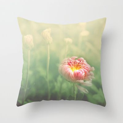 Autumn/秋菊 7 Throw Pillow by Katherine Song  - $20.00