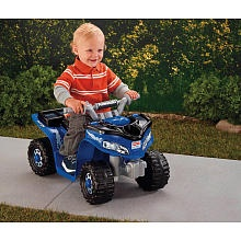 "Power Wheels Fisher-Price Lil Kawasaki Boys Sport Quad (Colors and Styles Vary) - Power Wheels - Toys ""R"" Us"