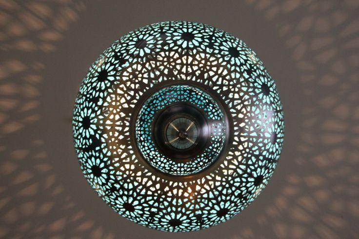 Lighting is of great importance at Moorish Blue Sydney