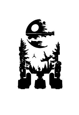Star Wars Mashup Vinyl Decal Sticker