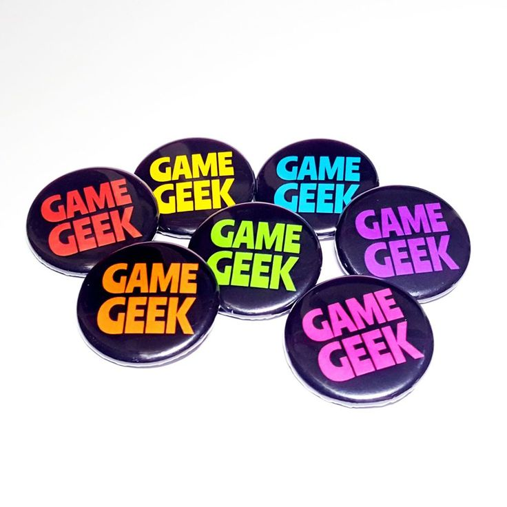 Geek badges perfect for all gamers! Available in seven different colours so that every member of your game group can pick the perfect colour to match their favourite player marker! Full Description: Printed Pin Badge Each badge measures approximately 32mm AVAILABLE COLOURS: Red, Orange, Yellow, Green, Turquoise, Hot Pink, Purple Designedby Laura Smith Made in...
