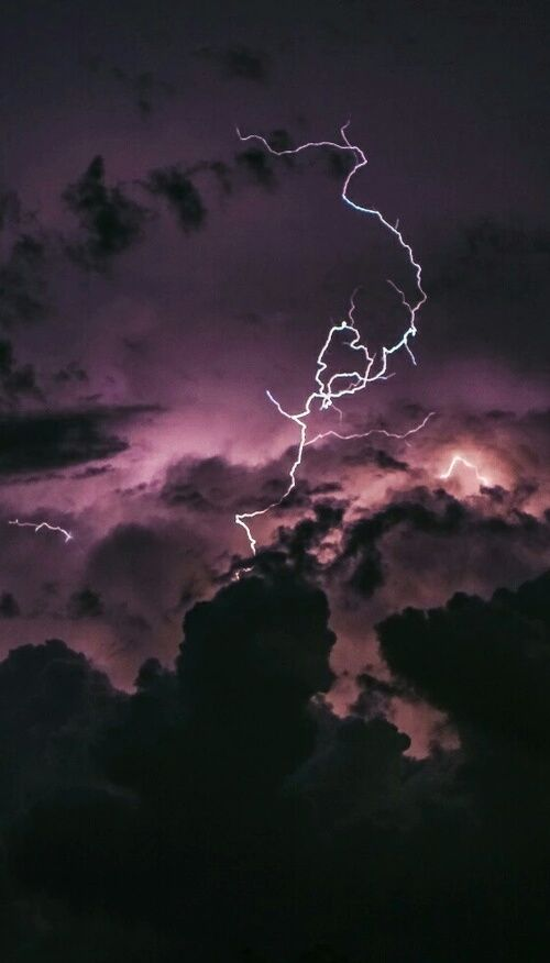 Imagem de sky, grunge, and lightning