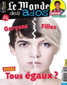 Le Monde des Ados- 339- Dossier : garçons-fillesl'(in)égalité des sexes * Actu : quand les enfants vont en guerre