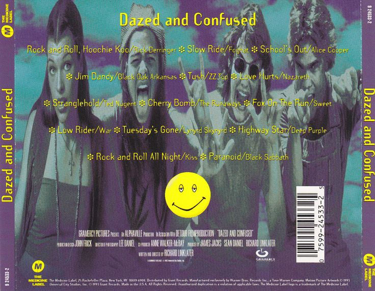 dazed and confused soundtrack | Dazed And Confused - Original Soundtrack. This sound track is awesome!