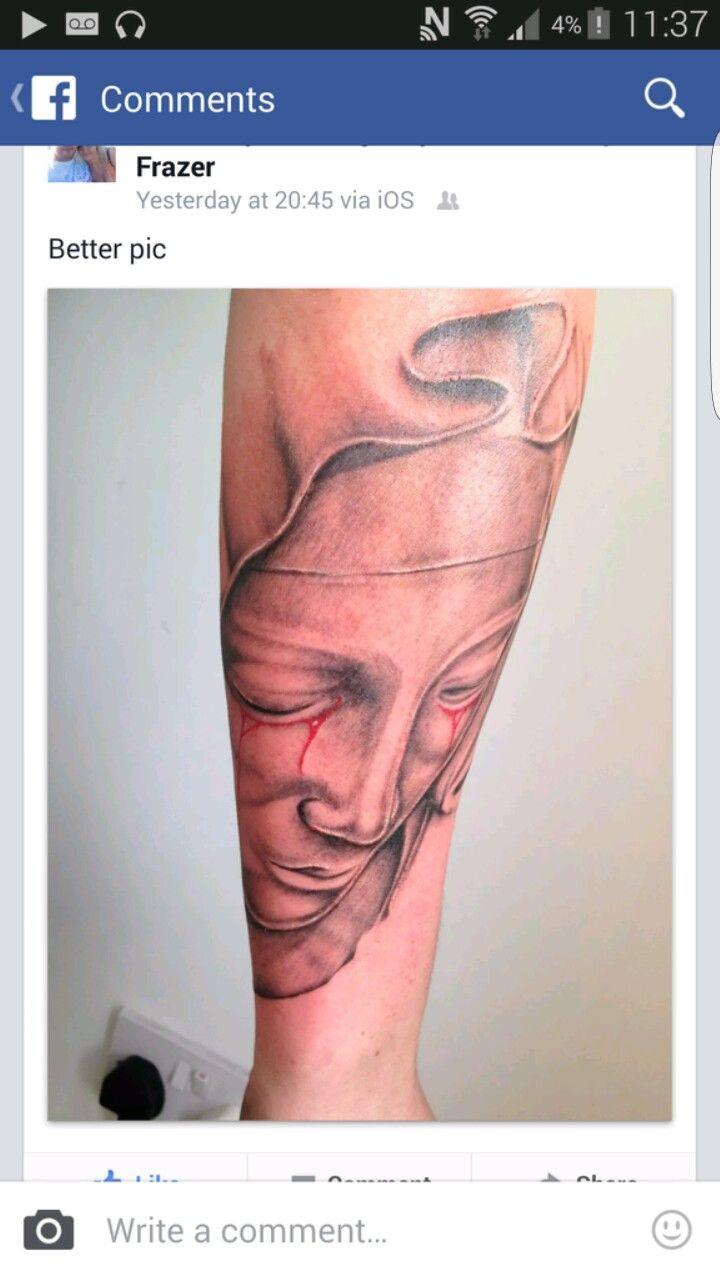 my Virgin Mary religious christian tattoo