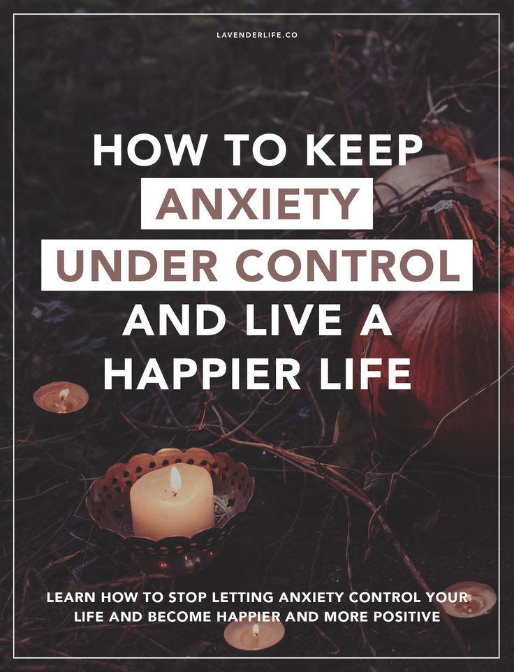 HOW TO KEEP ANXIETY UNDER CONTROL AND LIVE A HAPPIER LIFE. Learn how to stop letting anxiety control your life, and become happier and more positive. Includes links to a gratitude journal and two free worksheets. Anxiety tips from an anxiety sufferer to other anxiety sufferers.