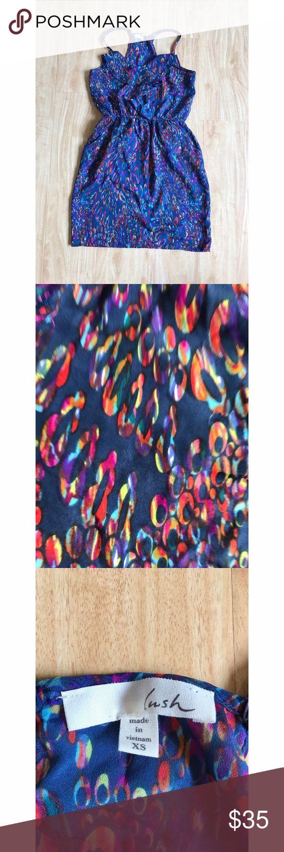 Lush Purple Mini Dress Size: Extra Small Lush Dresses Mini