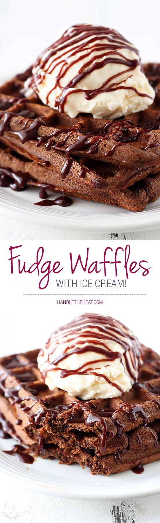 Slow Cooker: Fudge Waffles - Handle the Heat