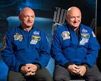 """Houston TX (SPX) Aug 09, 2016 NASA's Human Research Program (HRP) is releasing the video """"Omics: Advancing Personalized Medicine from Space to Earth"""", to highlight its Twins Study, coinciding with National Twins Days. This is the last video in a series of eight which explores space through you by using omics to look more closely…"""